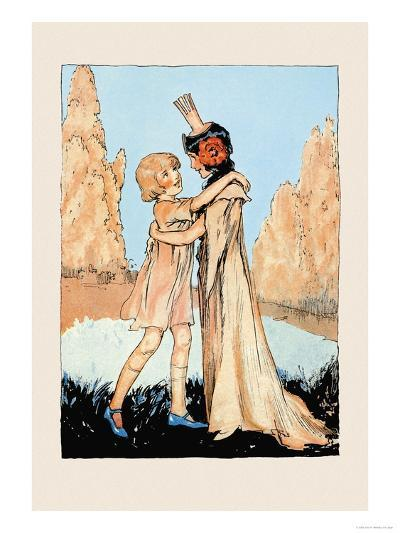 Betsy and Ozma-John R^ Neill-Art Print