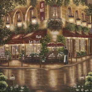 Café le Buci by Betsy Brown