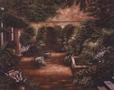 Courtyard in New Orleans II by Betsy Brown