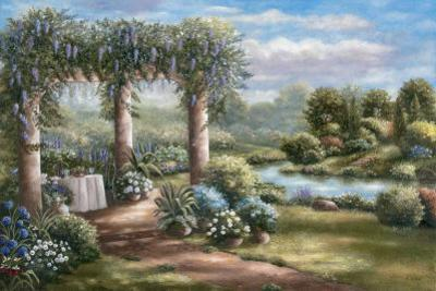Garden of Blue II by Betsy Brown