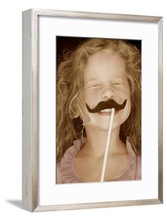Moustache Girl