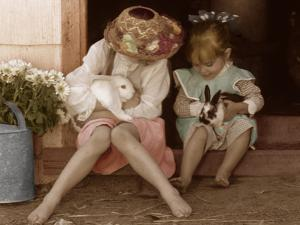 Two Easter Bunnies by Betsy Cameron