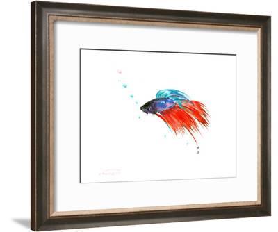 Betta Fish (2)-Suren Nersisyan-Framed Art Print