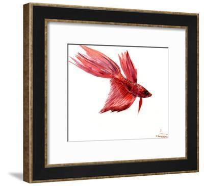 Betta Fish 2-Suren Nersisyan-Framed Art Print