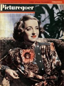 Bette Davis (1908-198), American Actress, 1943