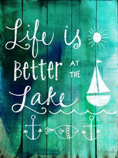 Better at the Lake-Katie Doucette-Art Print