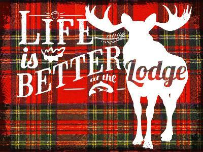 Better at the Lodge--Giclee Print