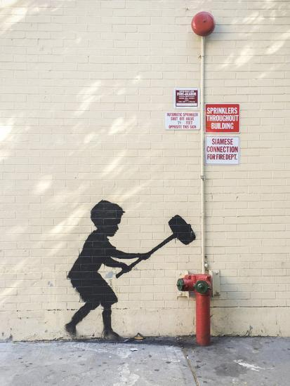 Better Out Than In-Banksy-Giclee Print