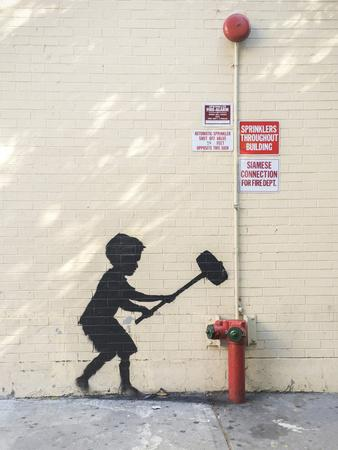 Better Out Than In-Banksy-Premium Giclee Print