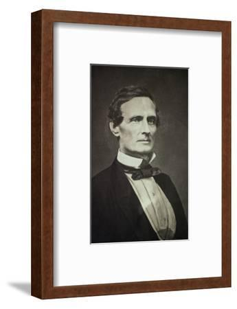 Confederate States President Jefferson Davis as Young Man