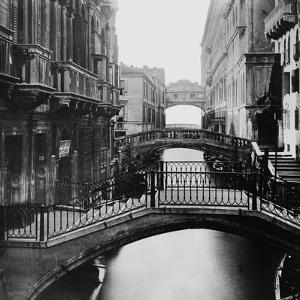 Distant View of Bridge of Sighs by Bettmann