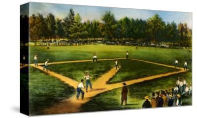 Illustration of Baseball Game
