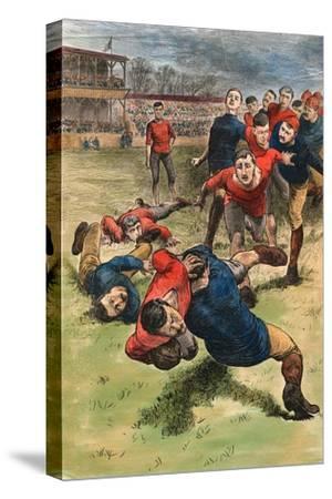 Illustration on Early Scenes of Football