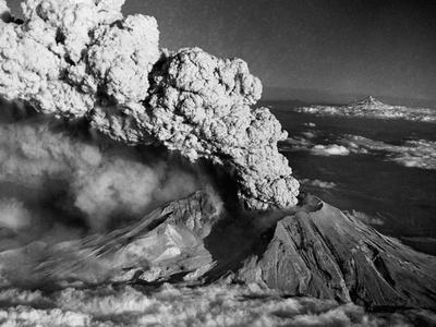 Mount St. Helens Eruption and Mount Hood