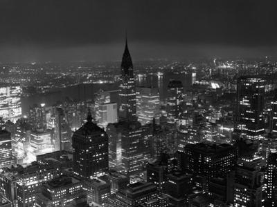 New York City at Night by Bettmann