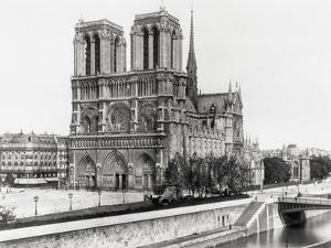 Notre Dame Cathedral by Bettmann