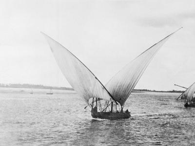 Sailboat on the Nile