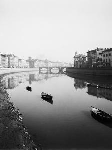 View Along the River Arno by Bettmann