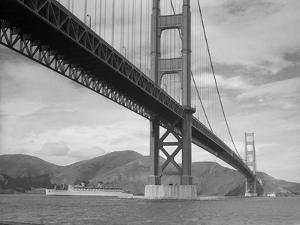 View of Golden Gate Bridge by Bettmann