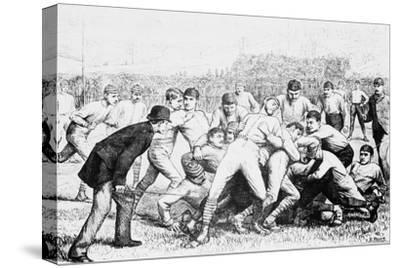 Yale And Princeton Football Match