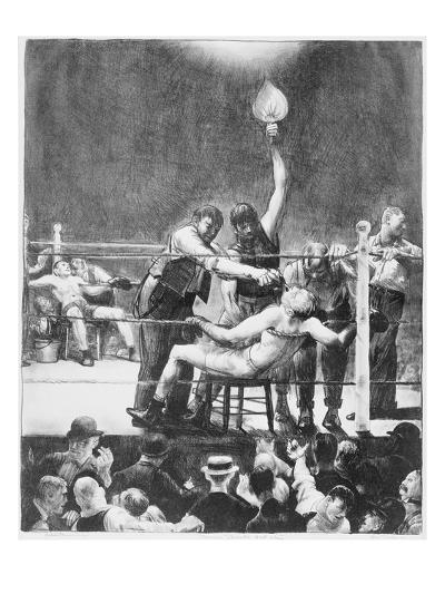 Between Rounds-George Wesley Bellows-Giclee Print