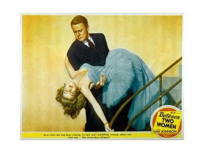 Between Two Women De Willis Goldbeck Avec Van Johnson Et Marilyn Maxwell, 1945--Art Print