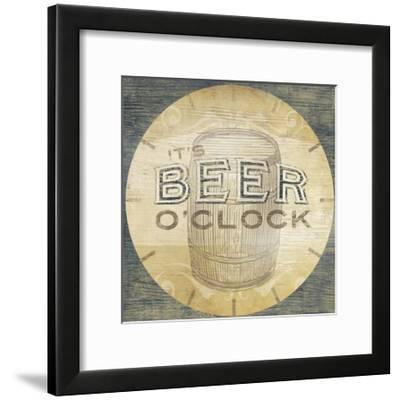 Beverage O'Clock III--Framed Art Print