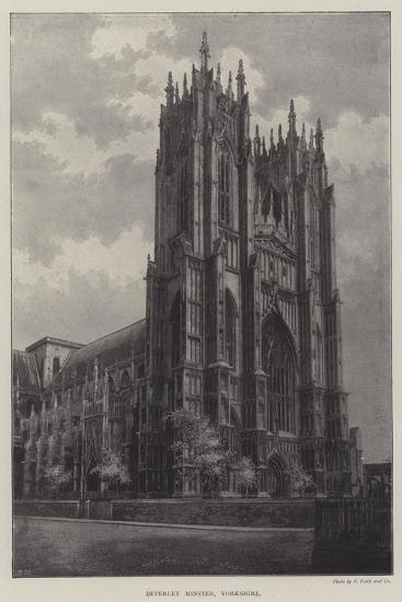 Beverley Minster, Yorkshire--Giclee Print