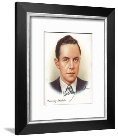 Beverley Nichols, 1937-Beverley Nichols-Framed Giclee Print