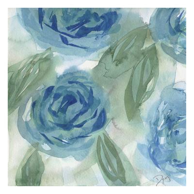 Blue Green Roses I