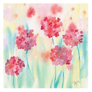 Blushing Meadow I by Beverly Dyer