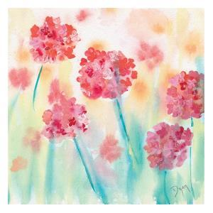 Blushing Meadow II by Beverly Dyer