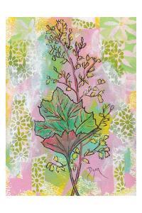 Botanical Boho Foam Flower by Beverly Dyer