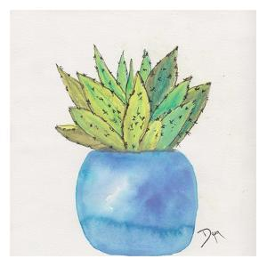 Cactus Pot II by Beverly Dyer