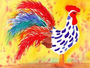 Farm House Rooster II by Beverly Dyer