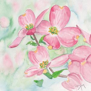 Pink Dogwood I by Beverly Dyer