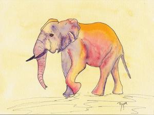 Rainbow Elephant by Beverly Dyer