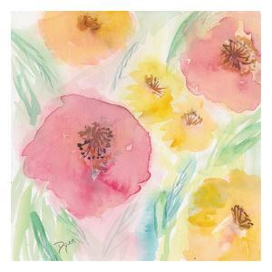 Soft Floral II by Beverly Dyer