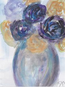 Soft florals 2018 Tranquility by Beverly Dyer