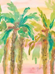 Sunset Palms 3 by Beverly Dyer