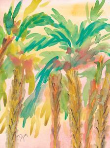 Sunset Palms 4 by Beverly Dyer