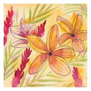 Sunset Plumeria II by Beverly Dyer