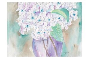 White Hydrangea by Beverly Dyer