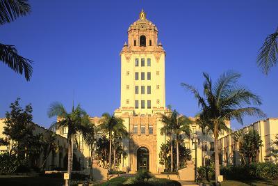 Beverly Hills City Hall, California, USA-Peter Bennett-Photographic Print