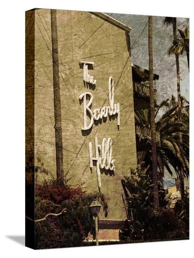 Beverly Hills Hotel 4-Dale MacMillan-Stretched Canvas Print