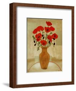 Crimson Poppies by Beverly Jean