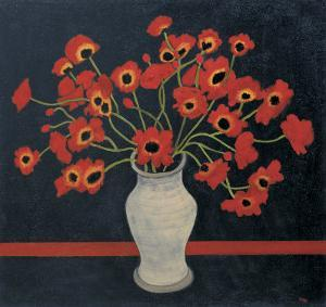 Red Poppies by Beverly Jean