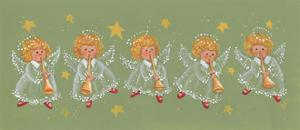 Angels Playing Trumpets by Beverly Johnston