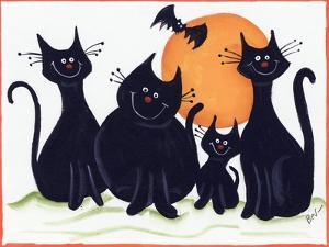 Halloween Kitties by Beverly Johnston