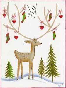 Reindeer Joy by Beverly Johnston